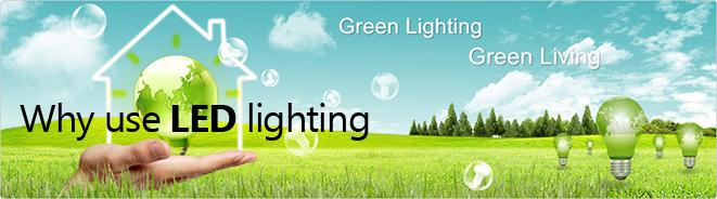 Why use LED lighting?